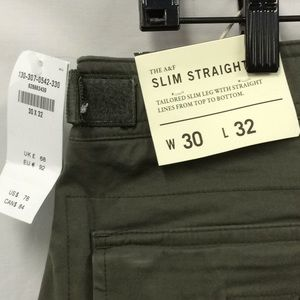 Abercrombie & Fitch Paratrooper pants, NWT